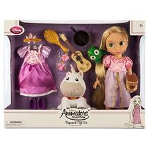 Set Lujo Muñeca Rapunzel Animators Disney Envio Gratis