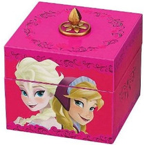 Disney Congelado Anna Y Elsa Musical Caja Del Recuerdo [rosa