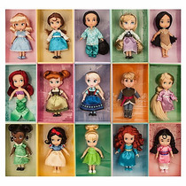 Disney Store Coleccion Completa Animators Princesas 13cm