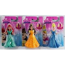 Disney Princess Pequeño Reino Magiclip Doll Set De 3 - Belle