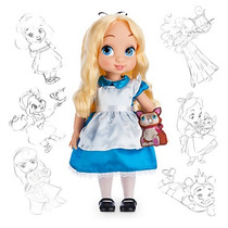 Alicia Muñeca Animators De Coleccion Disney Store Original