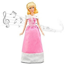 Disney Cinderella Singing Doll Y Vestuario Set