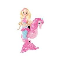 Barbie La Perla Princesa Sirena Muñeca Con Seahorse