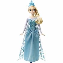 Muñeca Disney Frozen Elsa Canta Libre Soy Español