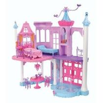 Barbie Mariposa Y La Princesa De Hadas Castillo Playset Con