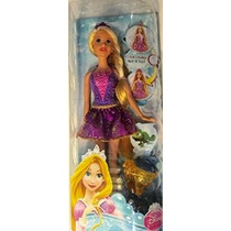 Disney Princess Baño Belleza Rapunzel Color-cambio De Pelo Y