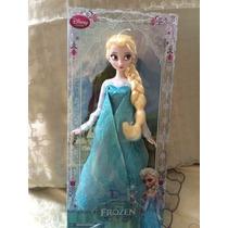 Muñeca Elsa De Frozen Disney Store 29cm