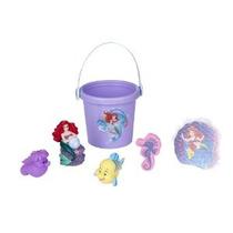 Disney Princesa Ariel De Abajo El Baño Del Mar Cubo