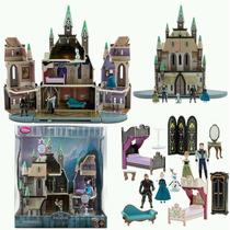 Castillo Arendelle Disney Store Frozen De Lujo Con Figuras!!