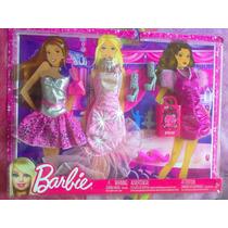 Set De Vestidos De Gala Y Accesorios Para Barbie