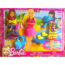 Set De Ropa De Playa Y Accesorios Para Barbie
