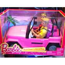 Carro De De Playa De Barbie