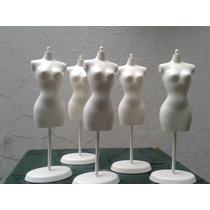 Barbie Maniquies Ropa De Muñecas Blancos,negros$119 Cada Uno
