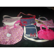 6 Bolsas Para Niña 2hello Kitty 1barbie3 Casuales Seminuevas