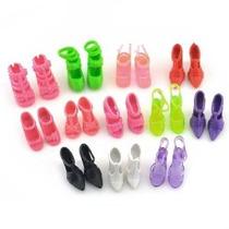 Qiyun 10 Pares De Zapatos Le Queden Muñeca Barbie Dolls Esti