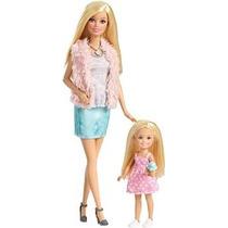 Barbie Hermanas Barbie Y Chelsea Doll 2-pack