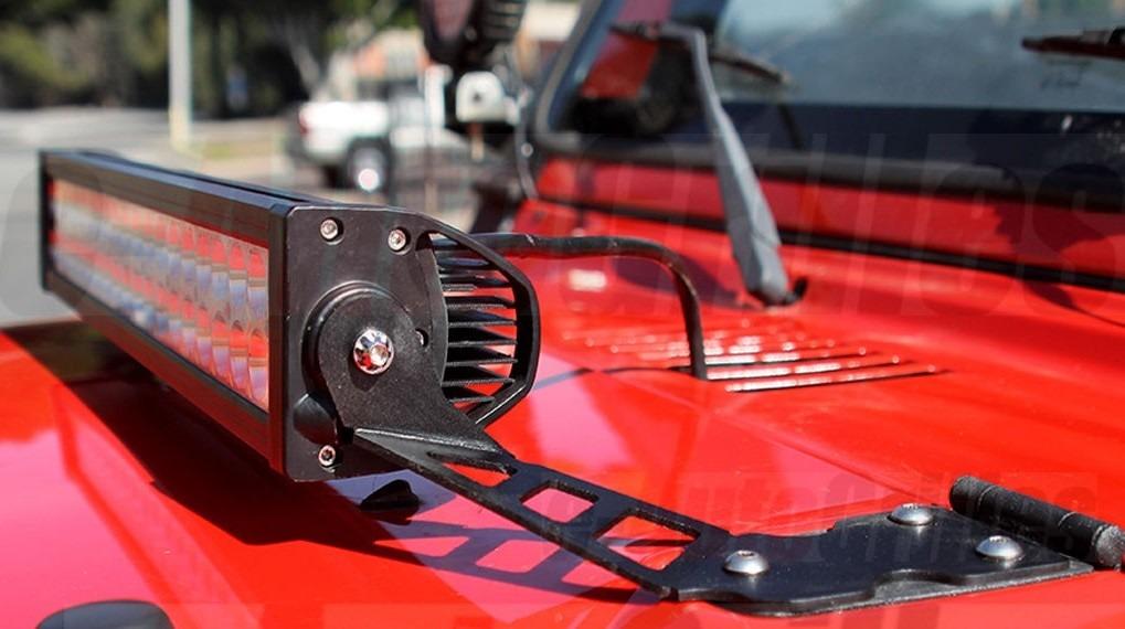 Barra de luces para jeep
