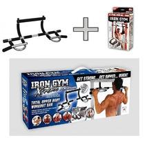 Irongym Barra Multifuncional 5 En 1 Xtreme Iron Gym Barra