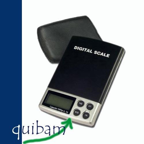 Bascula Digital, Mide Hasta 1000 Gramos Con Exactitud 0.1