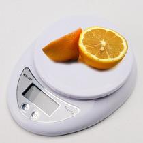 Bascula Digital Para Cocina Lcd De 1gr A 5kg Compacta Au1