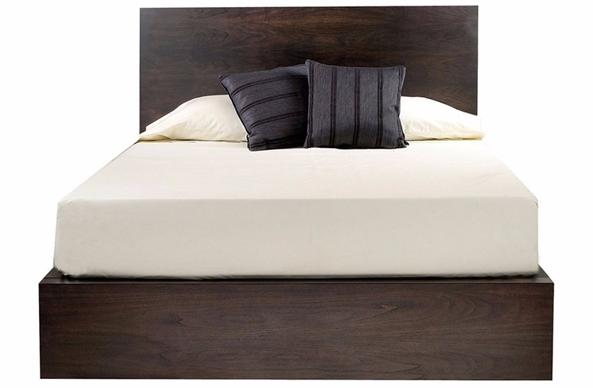Base cama madera matrimonial individual queensize kingsize for Cama queen size or king size