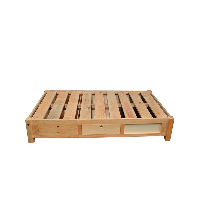 Base cama para colchon individual con cajones y zapatera 2 en mercadolibre - Cama individual con cajones ...