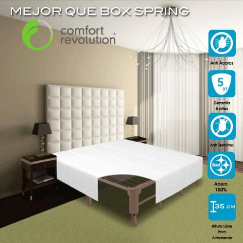 Base para cama matrimonial de camas en mercadolibre for Colchon y cama matrimonial