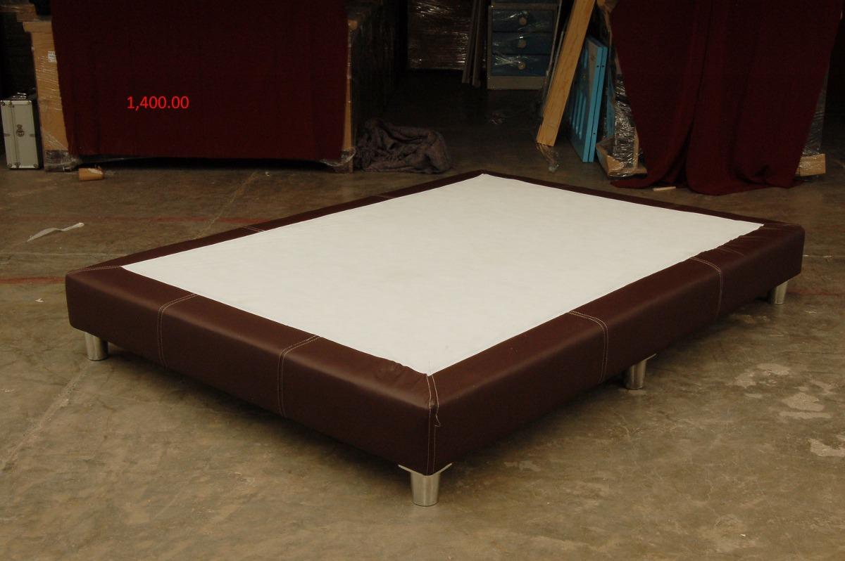 Base para cama modelo roca individual 1 en for Base para cama individual precios