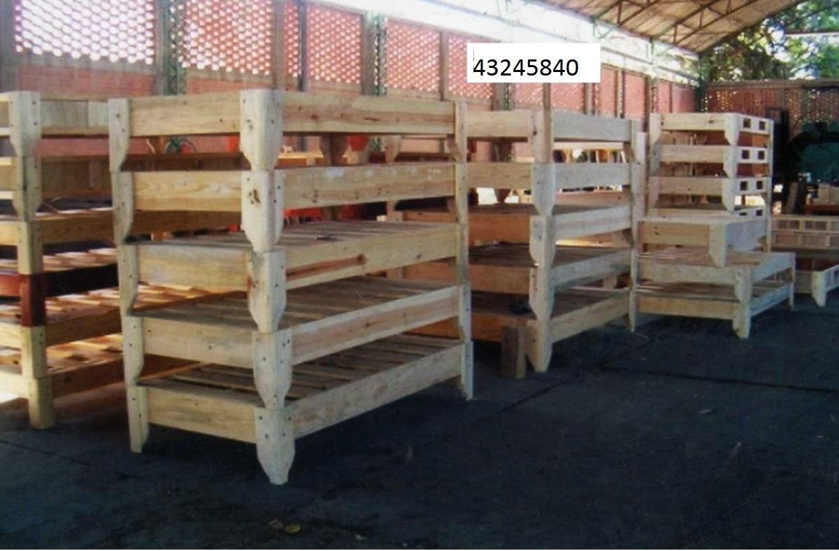Pin base cama on pinterest for Cama queen de madera