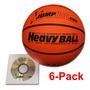 Set De 6 Balones Para Entrenamiento De Basketball Heavy Ball