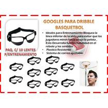 Lentes Para Entrenamiento Basquetbol Paq De 10 Pza Googles