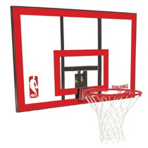 Tablero Con Aro Retractil Basketball Spalding Nba Lbf