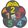 Sklz Shot Spotz - Baloncesto Entrenamiento Marcadores