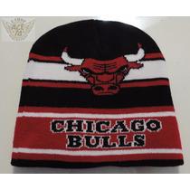 Chicago Bulls Gorro Ngr De Estambre Nacl Mod.toro Danbr68