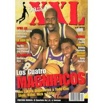 Revista Angeles Lakers Kobe Shaq Xxl Basket 90
