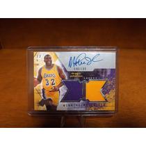 Magic Johnson Autografo Lakers