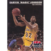 1992 Skybox Usa Nba Shooting Earvin Magic Johnson Lakers