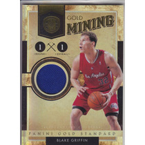 2010-11 Gs Gold Mining Jersey Blake Griffin 70/299 Clippers