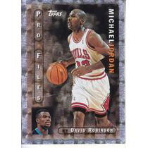 1996-97 Topps Pro Files Michael Jordan Bulls