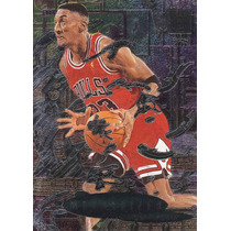 1996-97 Fleer Metal Metallized Scottie Pippen Bulls