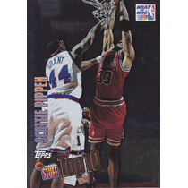 1997-98 Topps Inside Stuff Top 10 Scottie Pippen Bulls
