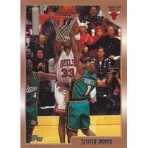 1998-99 Topps Scottie Pippen Bulls