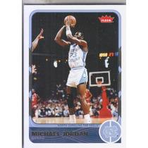 2011-12 Fleer Retro Michael Jordan Bulls Tar Heels