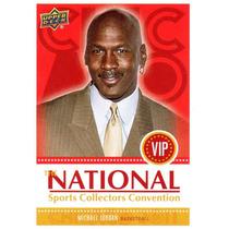 2011 Upper Deck The National Vip Michael Jordan Bulls