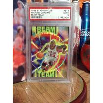 Michael Jordan Tarjeta Stadium Club Beam Team 95-96 Vv4