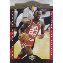 1996-97 Choice A Cut Above 10 Time All Star Michael Jordan