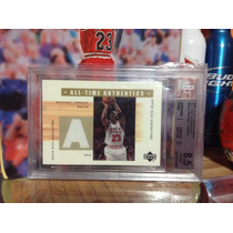 Michael Jordan Tarjeta Ud Generations Authentics 02-03