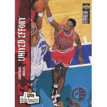 1995-96 Collectors Choice Players Club Scottie Pippen Bulls