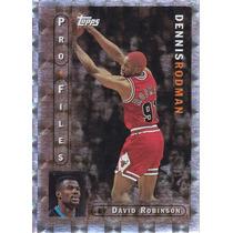1996-97 Topps Pro Files Dennis Rodman Bulls