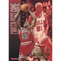 1996-97 Hoops Career Best Game Dennis Rodman Bulls